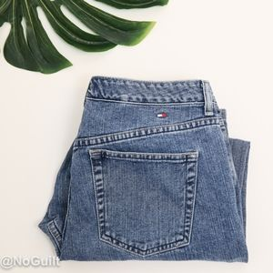 Tommy Hilfiger High Rise Mom Cropped Vintage Jeans